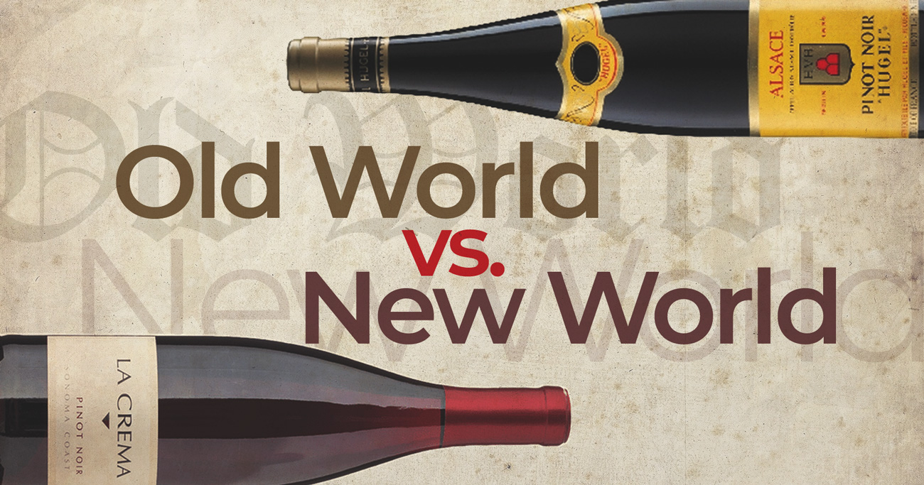 Old World vs New World Wines – What's the Difference? |