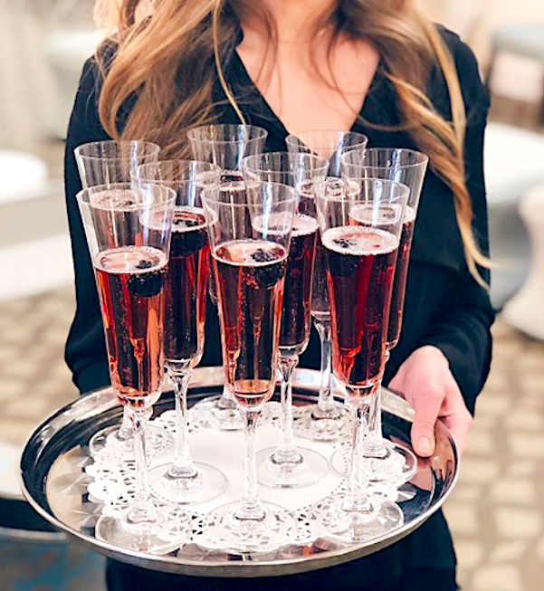 champagne cocktail, special occasion, sparkling wine, celebration