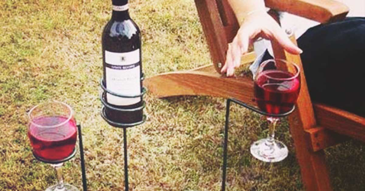 "Ooo! A Different Kind of Wine Glass ""Stem!"" Brilliant. 