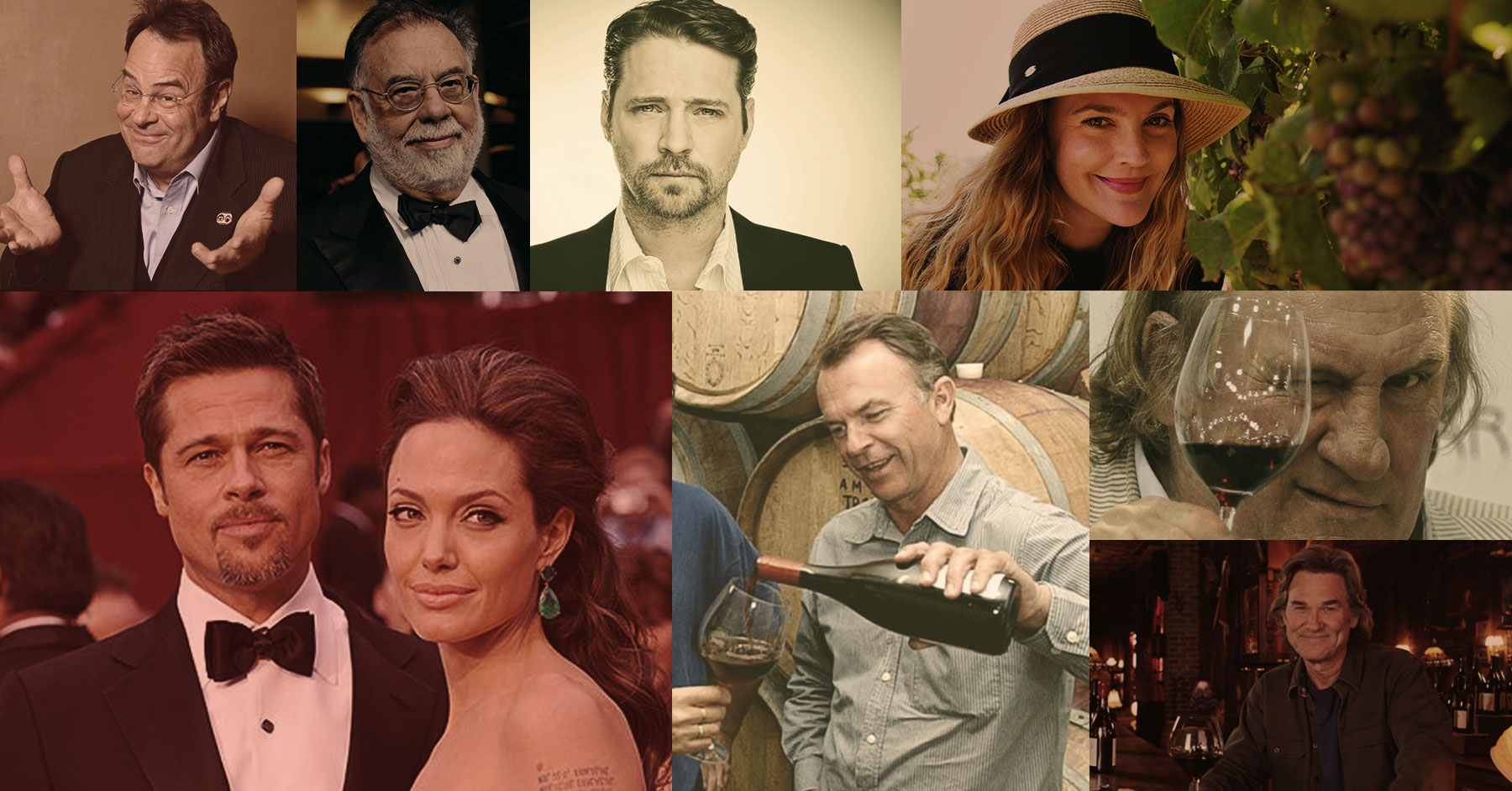Celebrity Wineries: Hollywood Actors In the Wine Industry |