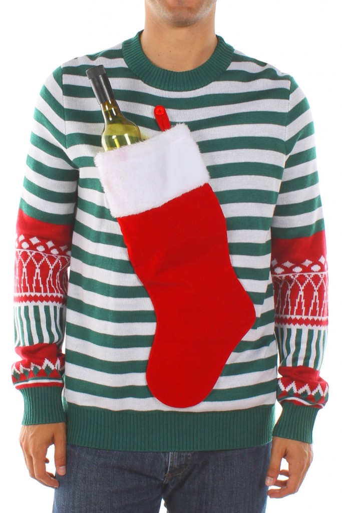 Mens Christmas Stocking Sweater