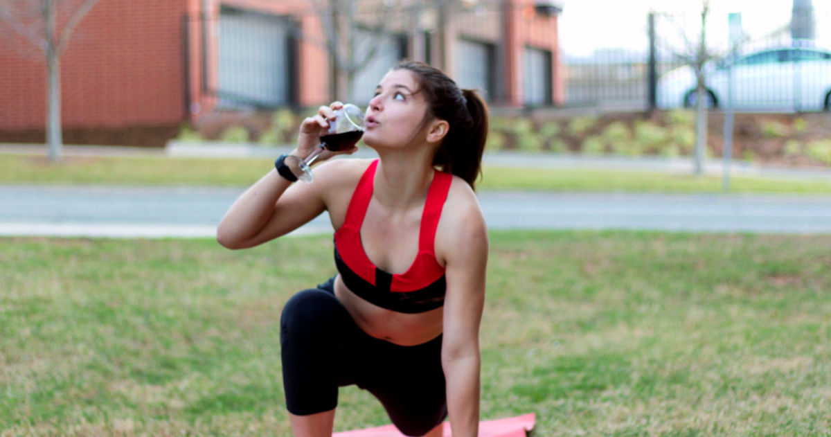 Is Drinking Wine Really Better Than Going To The Gym? |
