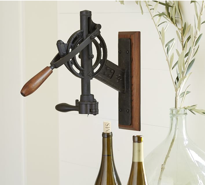 Vintner's Wall Mount Wine Opener