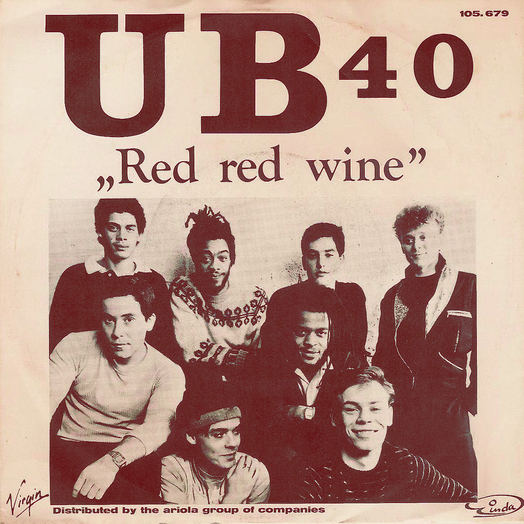 VIDEO: Red Red Wine by Neil Diamond / UB40 (with Lyrics) |