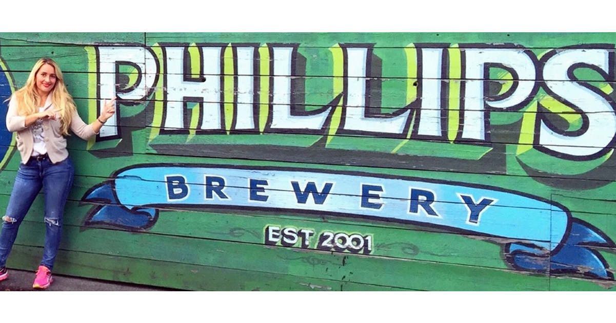 BREWERY TOUR: Phillips Brewing & Malting Company – Victoria, British Columbia