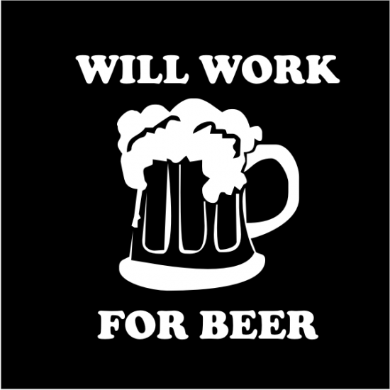 Will-work-for-beer