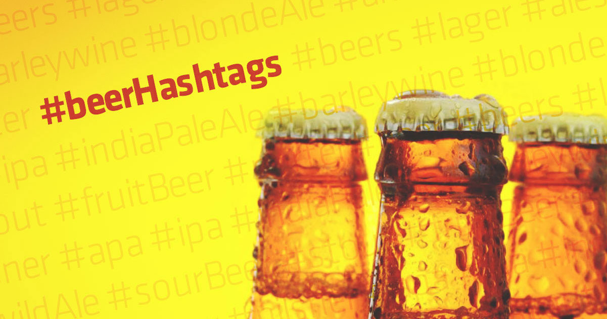 Beer Hashtags for Instagram, Twitter, and Facebook