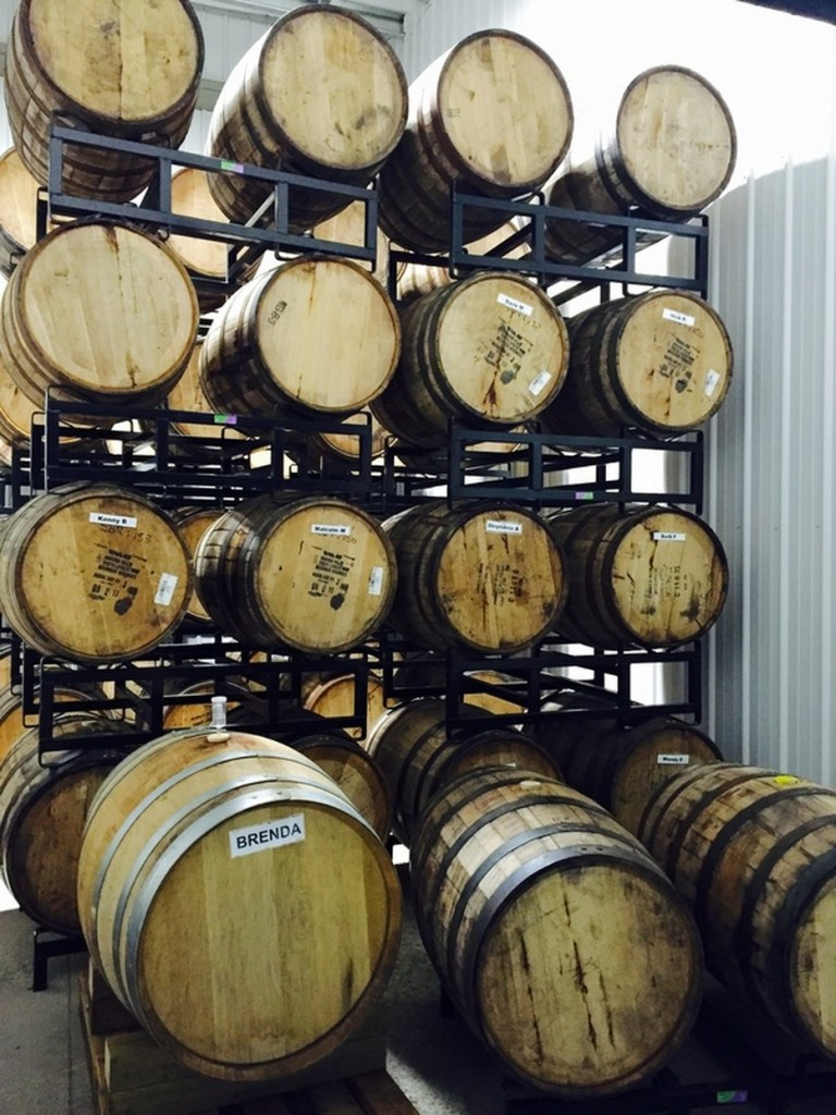 Big Rock Brewery Barrel Room