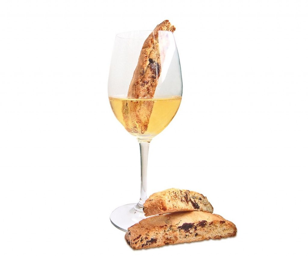 Biscotti and Moscato