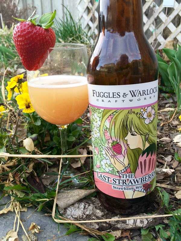 Fuggles & Warlocks Strawberry Wit