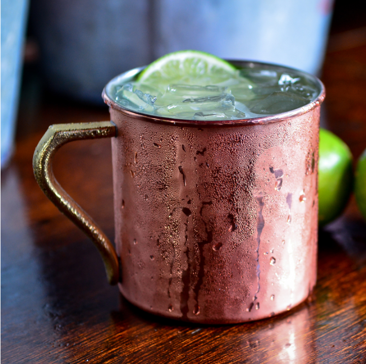 The Organic Moscow Mule Cocktail