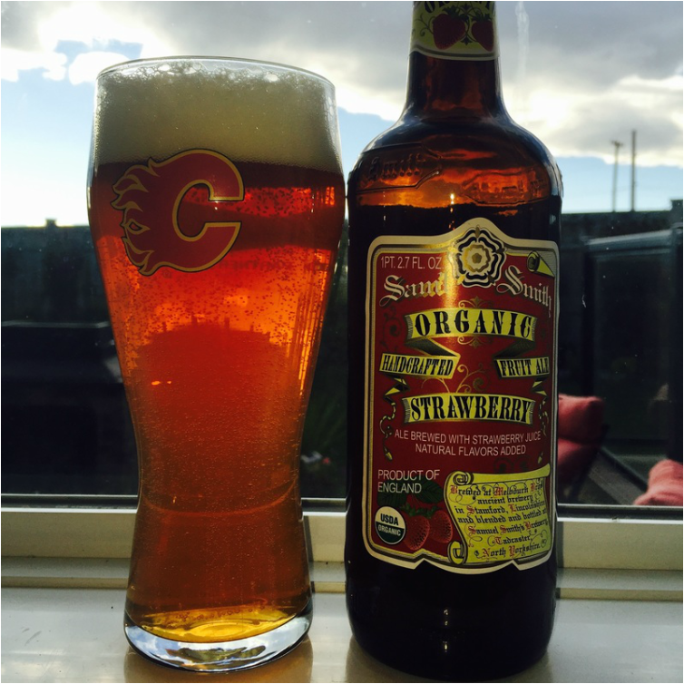 Smith's Organic Strawberry Ale