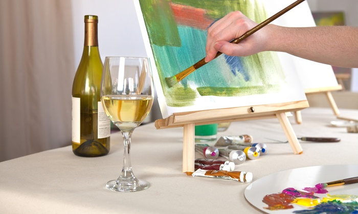Wine and Paint Workshop
