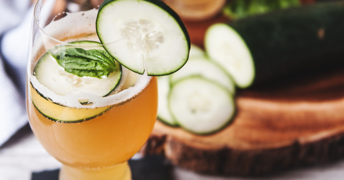 Cucumber Basil IPA Beer Cooler Recipe