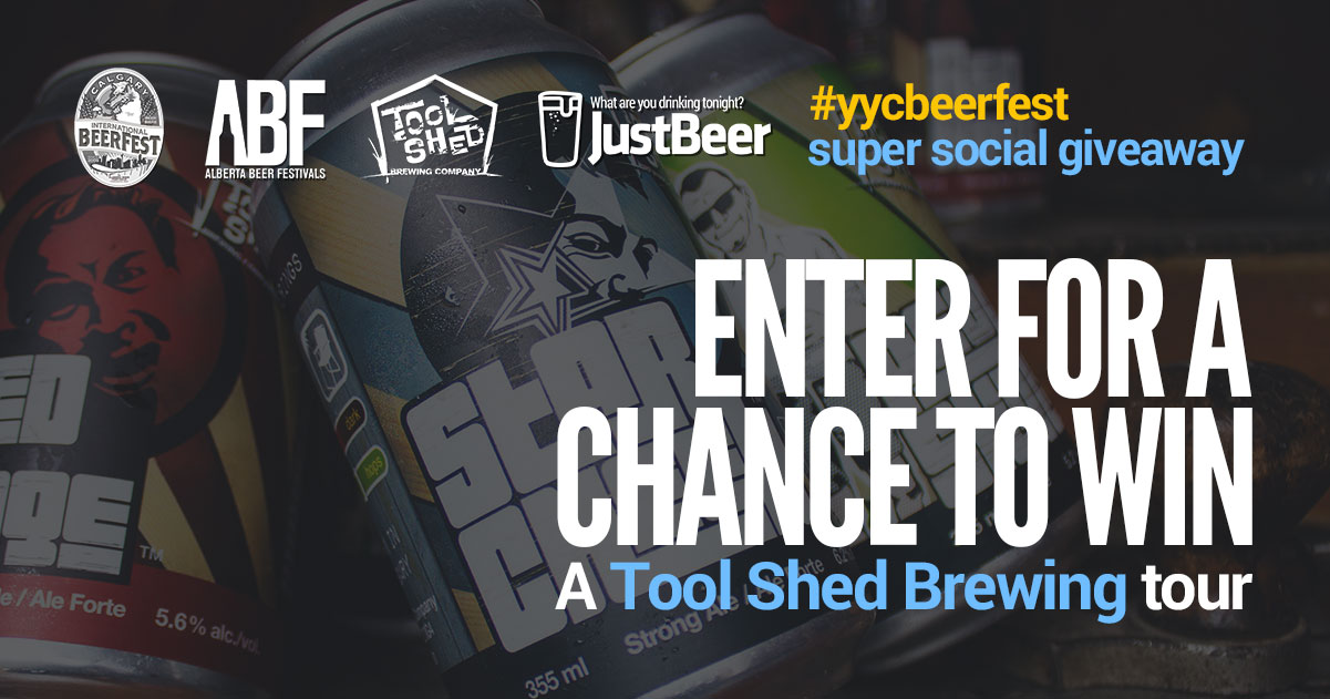 *CONTEST CLOSED*: Enter to Win A Tool Shed Brewery Tour for 4 People