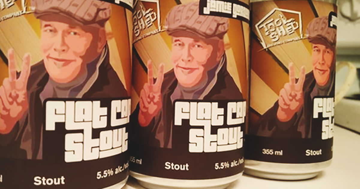 An Albertan Beer Legacy, a tribute to Jamie Gordon: Flat Cap Stout
