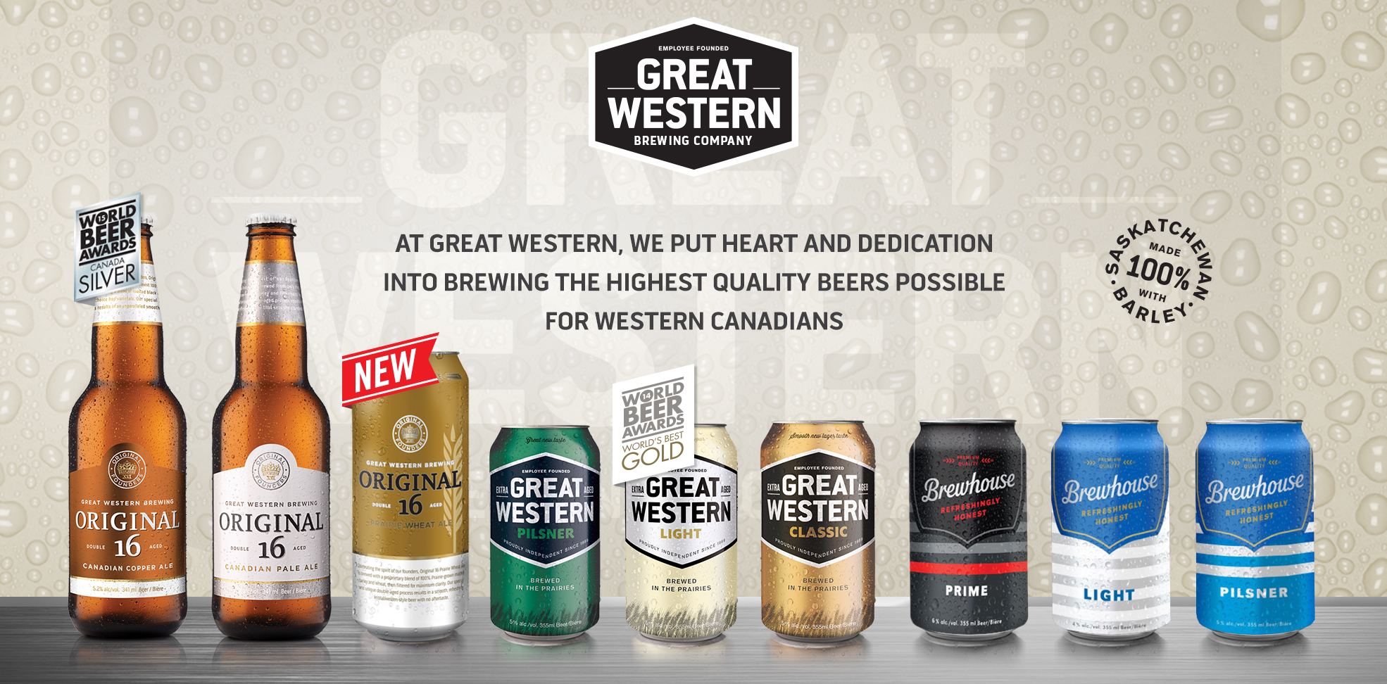 Great Western Line Up