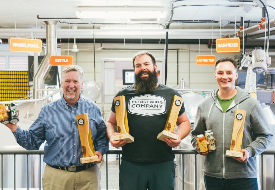 PEI Brewing Company Staff and Awards