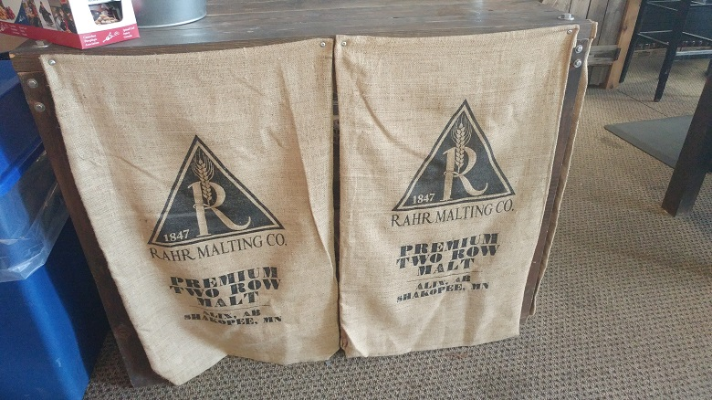 Rahr Malt Bags Being Reused Wisely at Tool Shed Brewing Company
