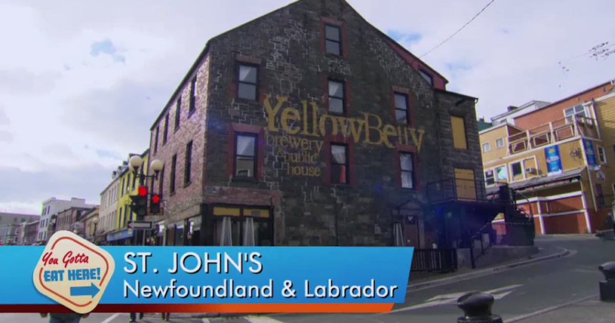Yellowbelly Brewery & Restaurant Newfoundland