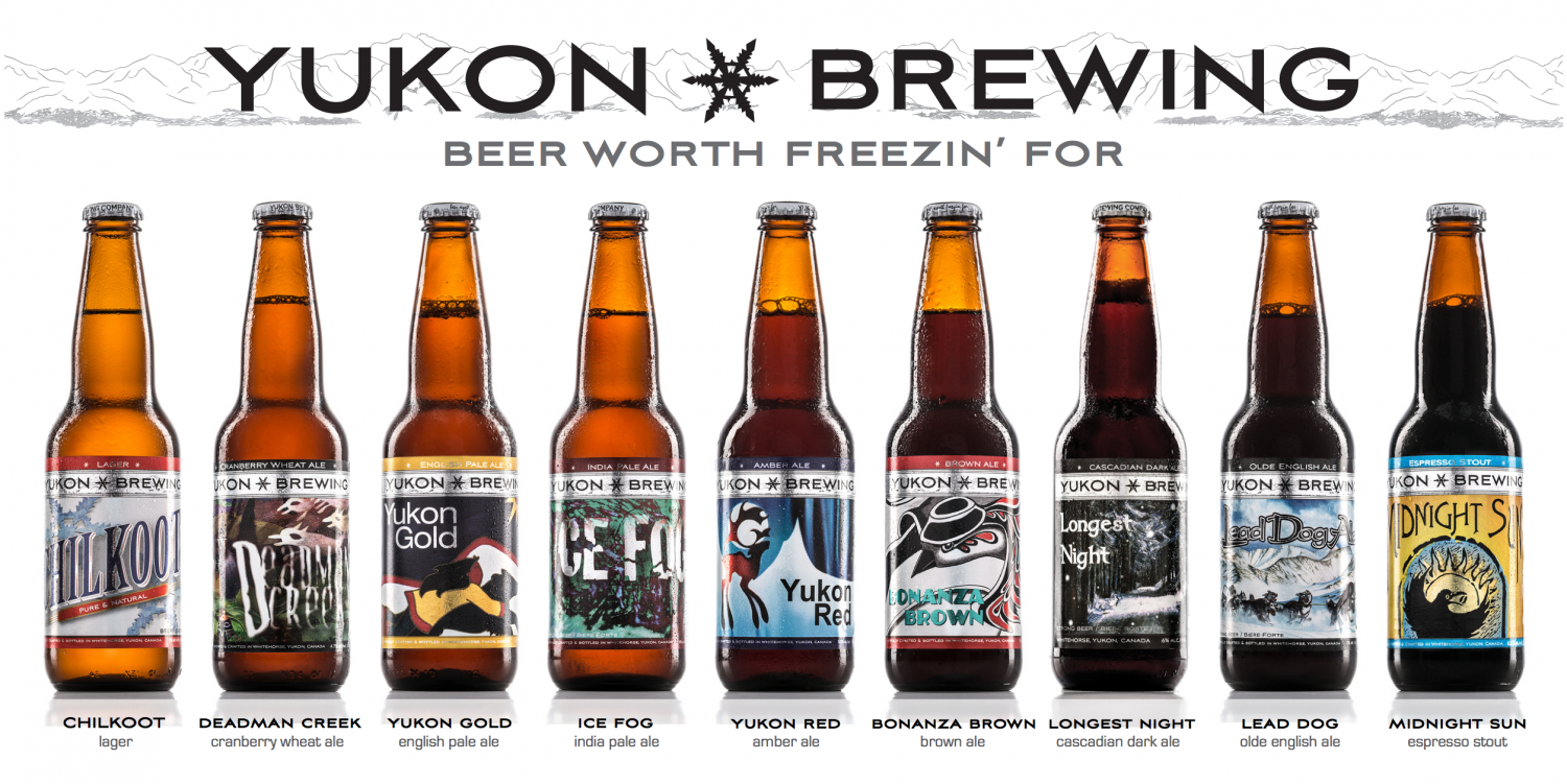 Yukon Brewing Line Up