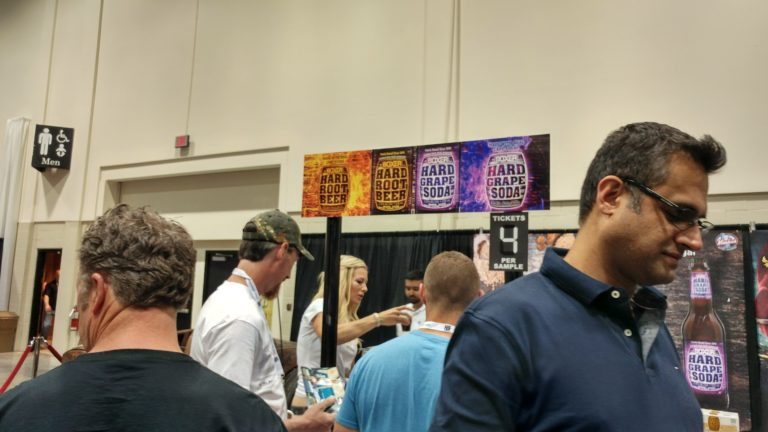 Boxer Stand @ Calgary Beer Fest