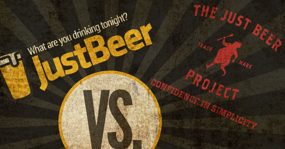 Just Beer VS. The Just Beer Project — what's the diff'???