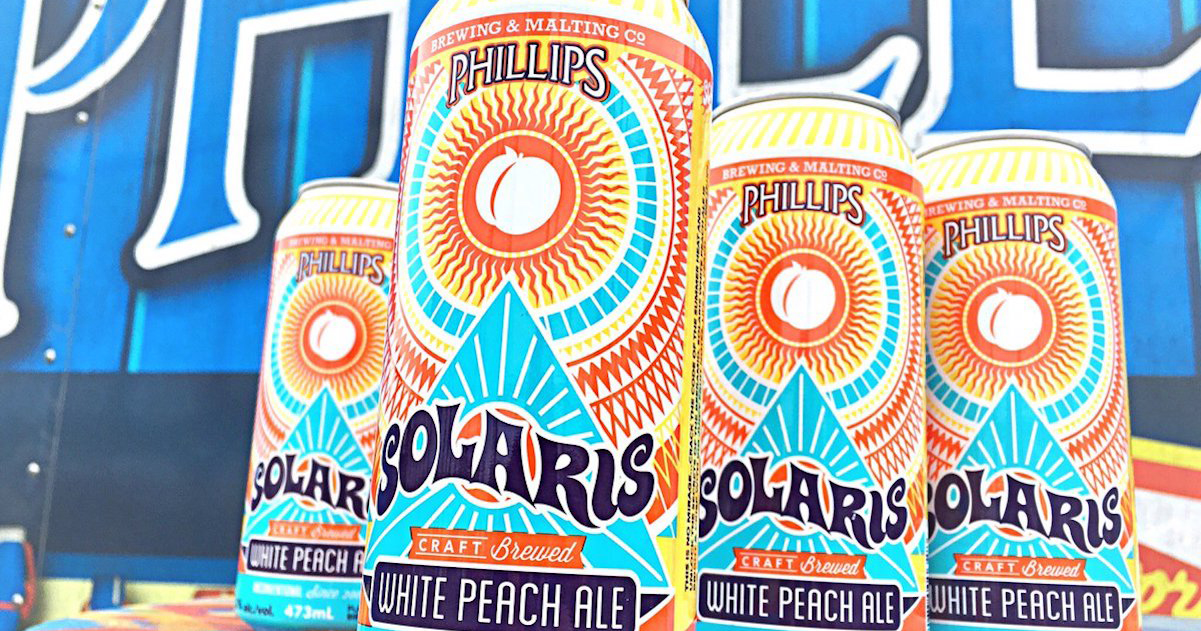VIDEO: Solaris White Peach Ale by Phillips Brewing & Malting Company Beer Review – Victoria, BC