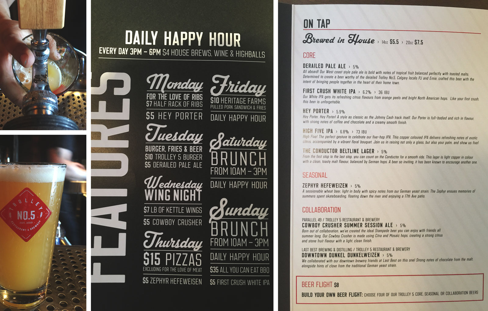 trolley-no-5-five-beer-brewery-on-tap-menu-features