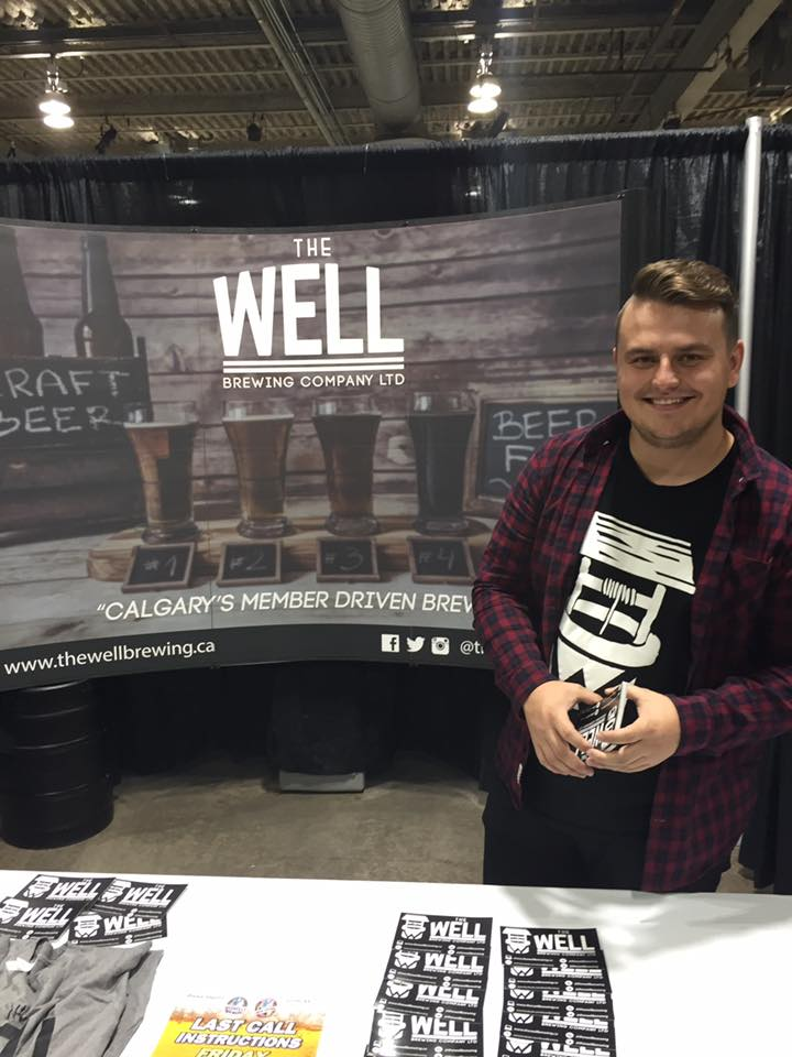 Quinn Wilton of Well Brewing