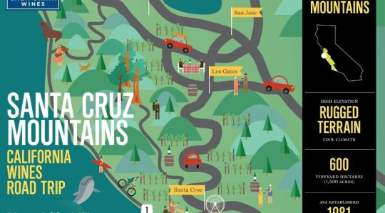 Explore Santa Cruz Mountains on a California Wines Road Trip | Just Wine
