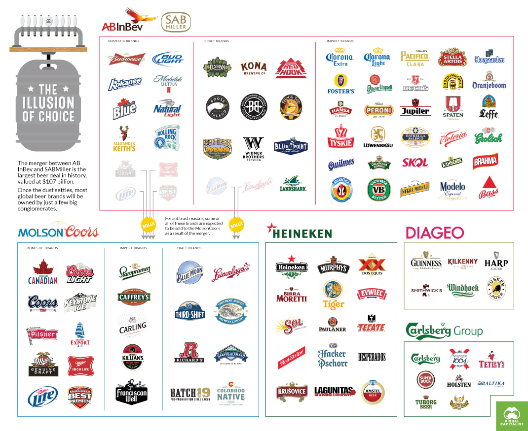 Infographic on Beer Industry