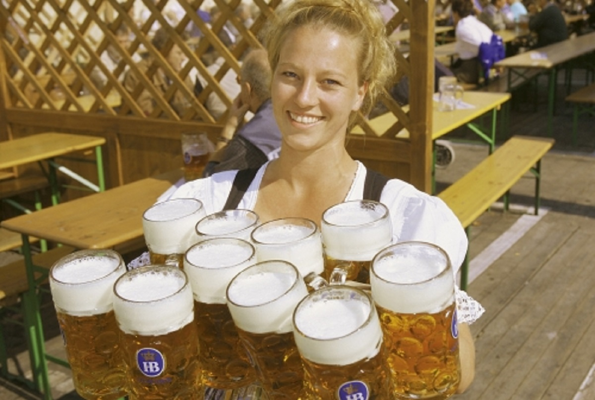 The Beer Maids and Beer Waiters of Oktoberfest