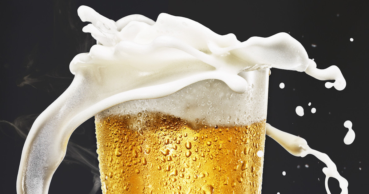 How The Foam On Your Beer Keeps It From Spilling