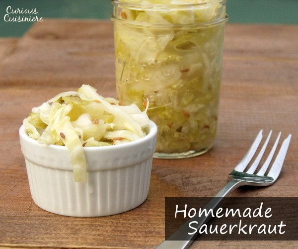 Homemade German Sauerkraut