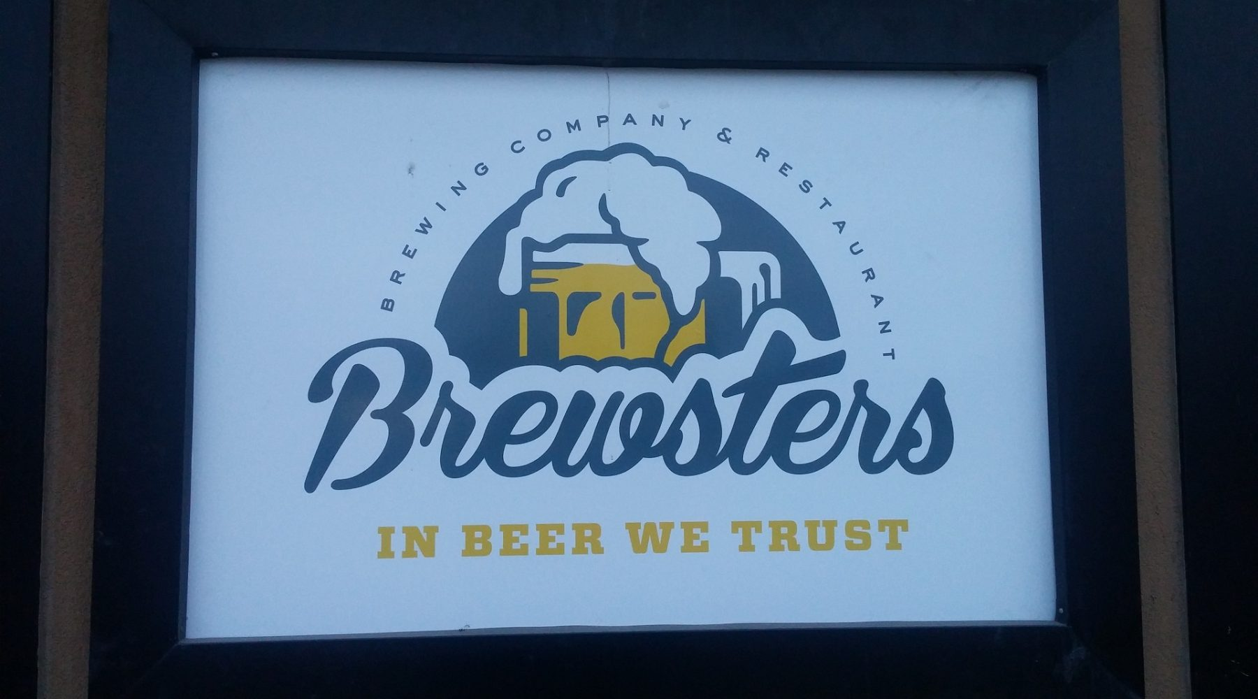 TOUR: Brewsters Pub and Brewery