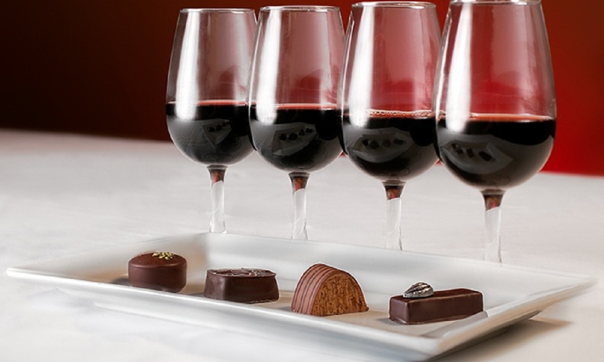 Image result for wine and chocolate