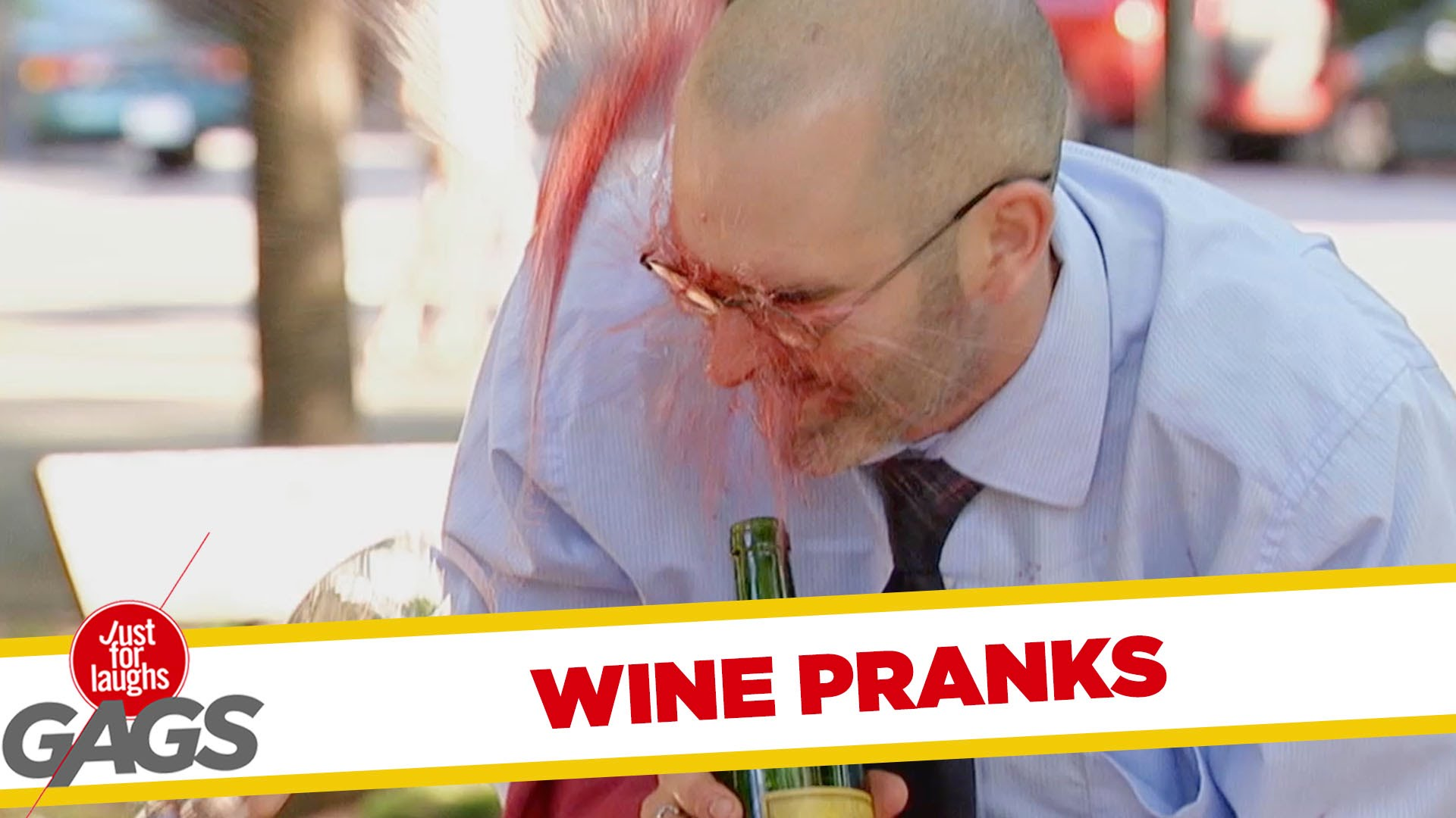 VIDEO: Best Just For Laughs Gags Wine Pranks |