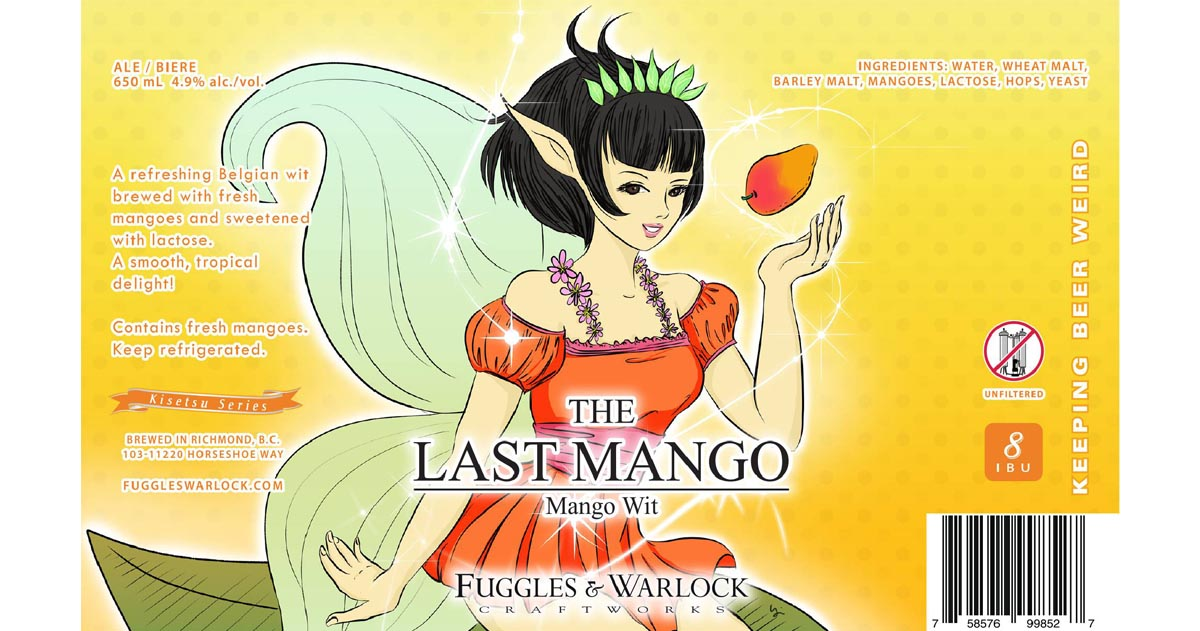 VIDEO: The Last Mango Wit by Fuggles & Warlock Craftworks Beer Review – Richmond, BC