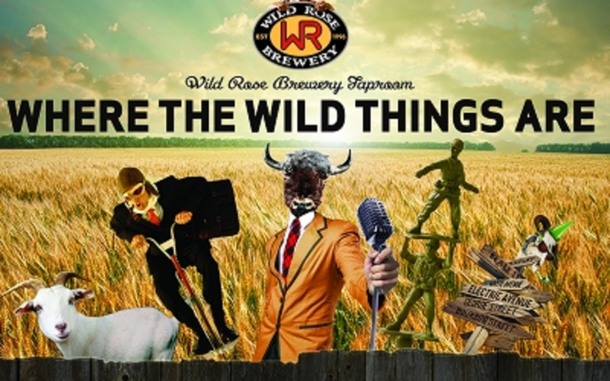 Win Beer for a Year with Wild Rose Brewery!