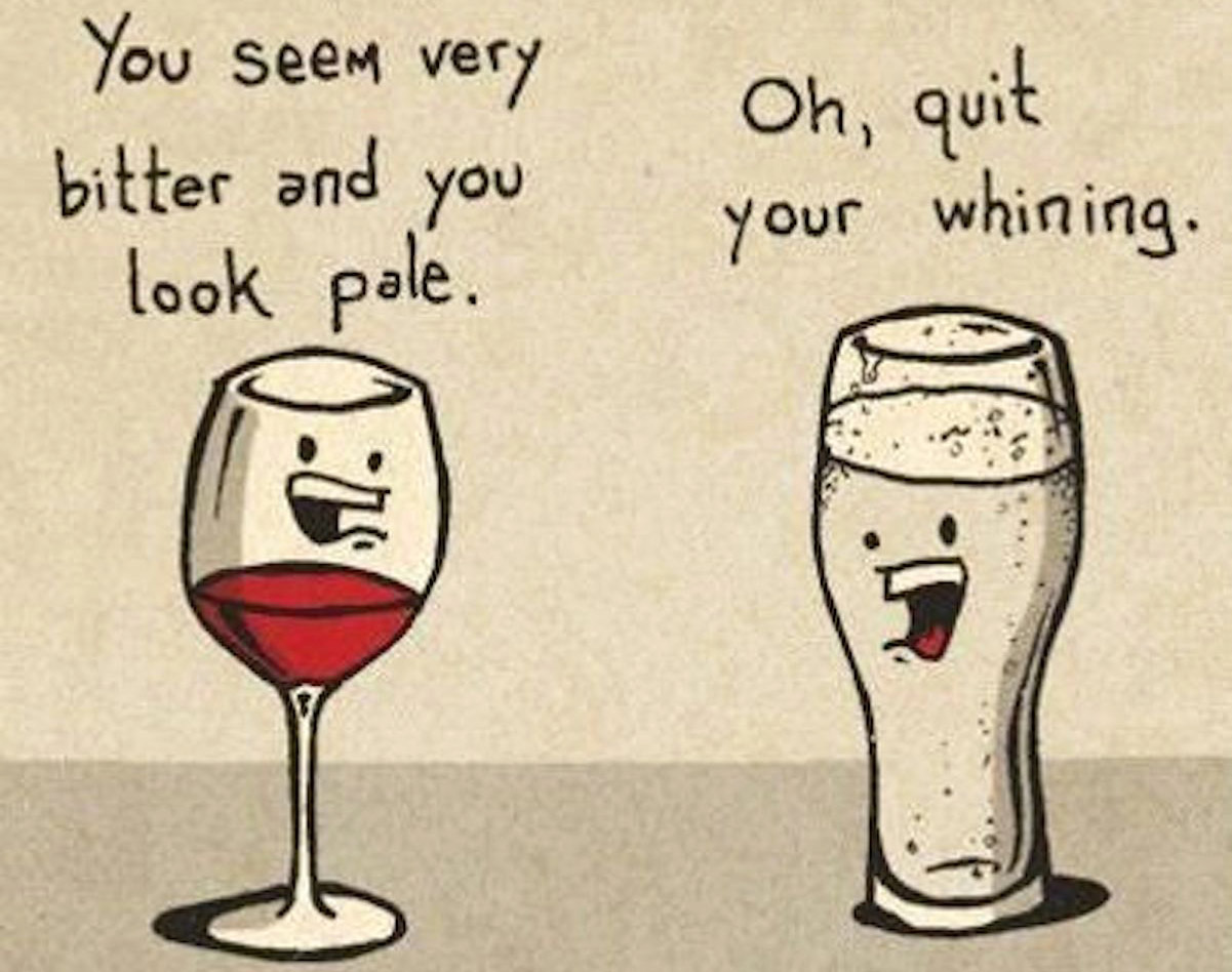 A Conversation Between Wine & Beer