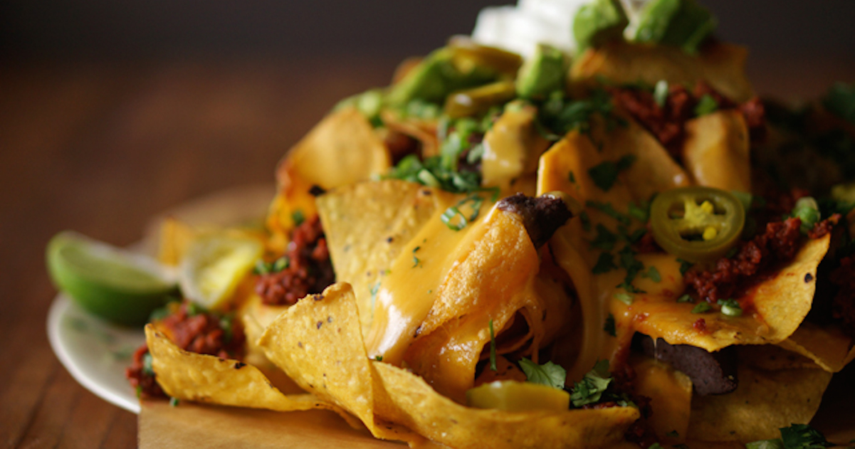 Nachos with Beer Cheese