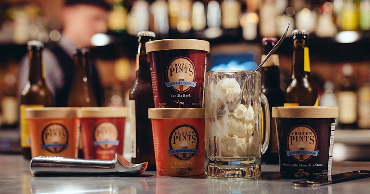 Frozen Pints: Craft Beer Ice Cream