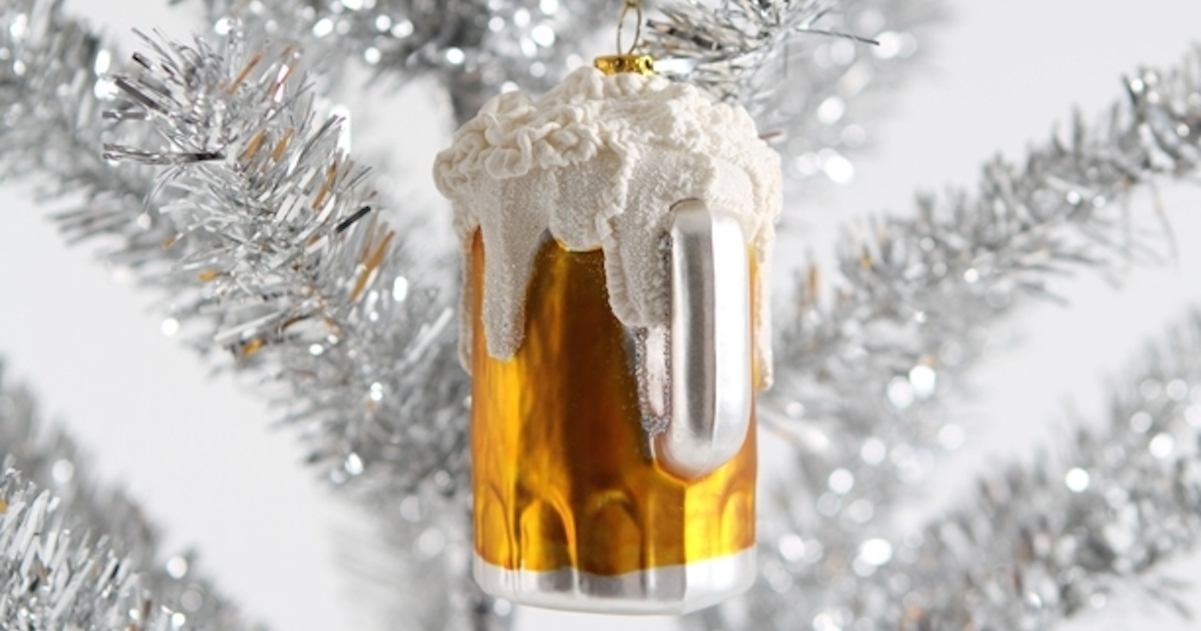 10 Festive Beer Ornaments Any Beer Lover Needs On Their Christmas Tree