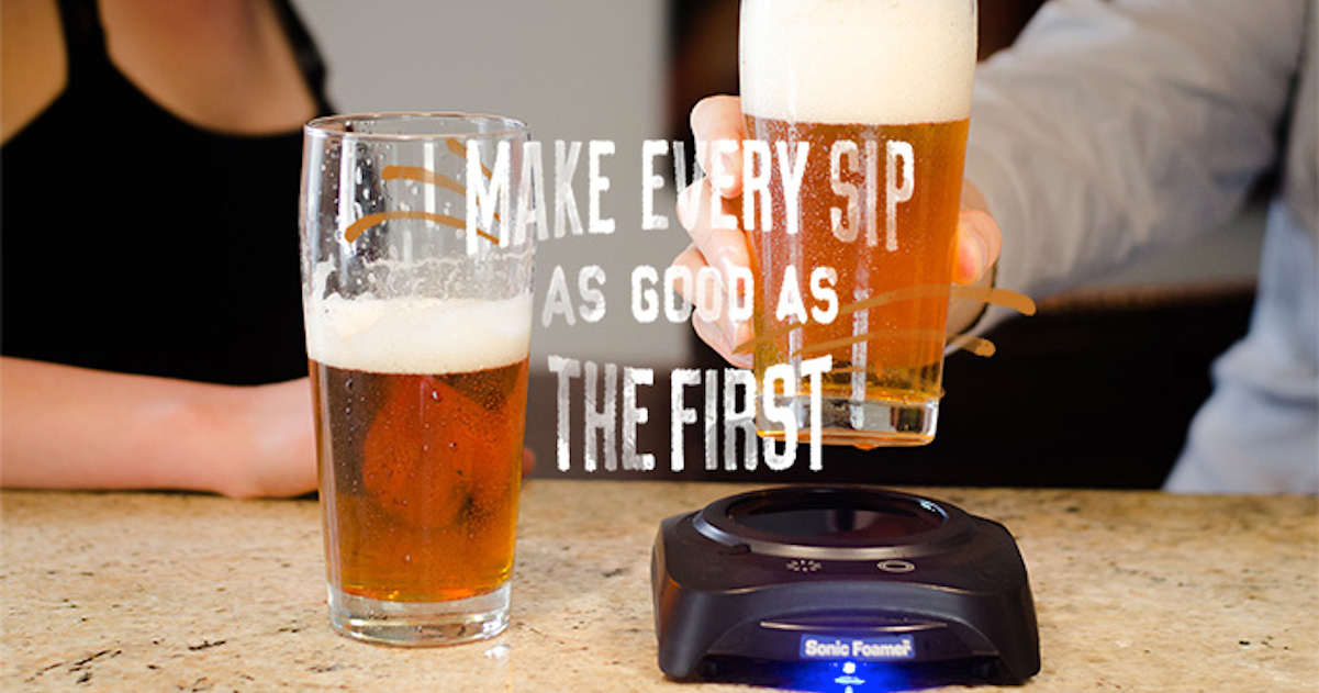 Ultrasonic Waves Can Enhance The Taste And Aroma Of Your Beer