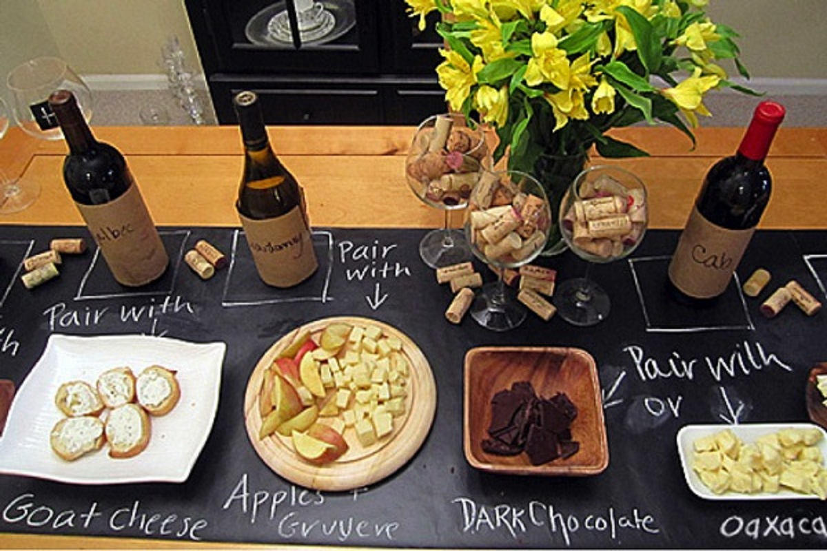 Wine Food Pairing Party Ideas