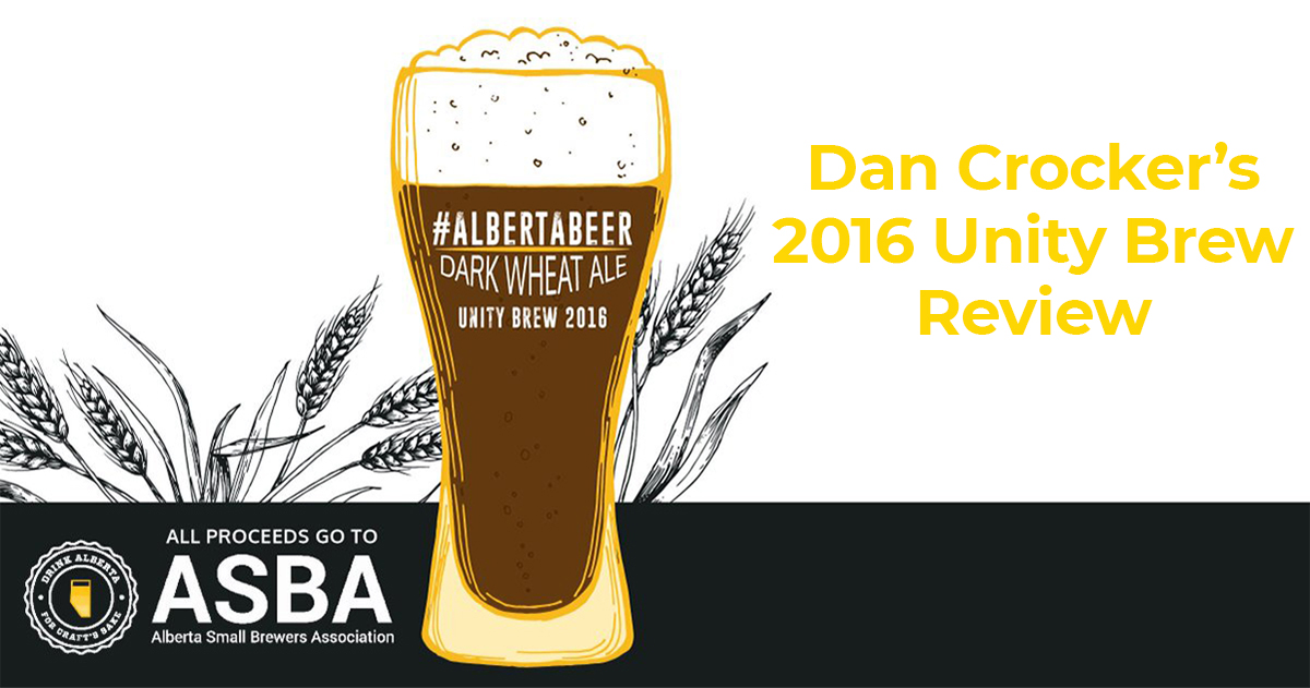 VIDEO: 2016 Unity Brew – Alberta Collaboration Beer Review