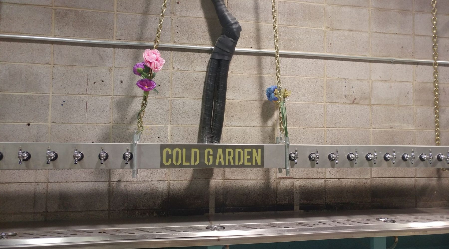 TOUR: Cold Garden Brewery