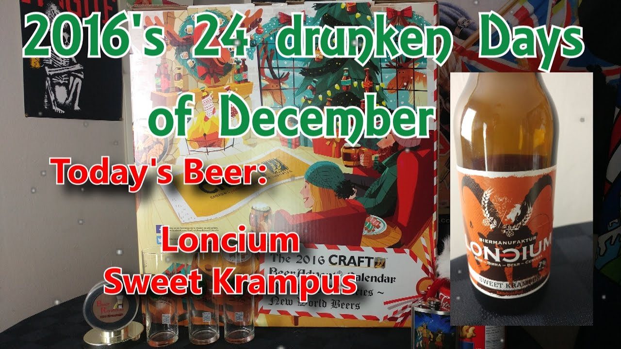 25 Drunken Days of December