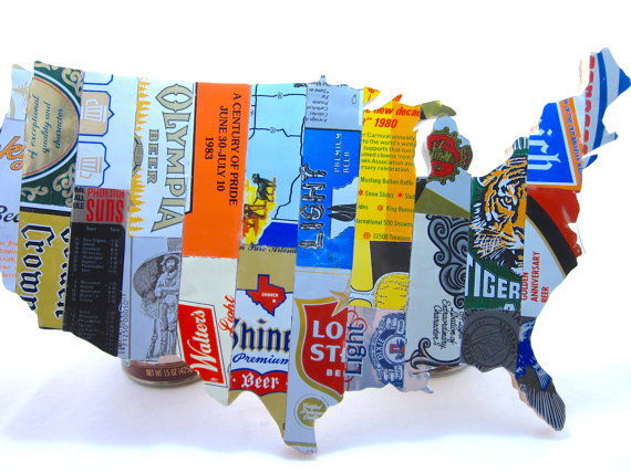 Beer Can Map